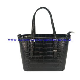 N36 Handtas Flora & Co 8031 zwart