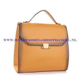 N38 Handtas Ines Delaure 1682147 saffran (geel)