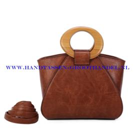 N107 Handtas Ines Delaure 1682209m camel