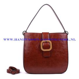 N38 Handtas Ines Delaure 1682325 camel