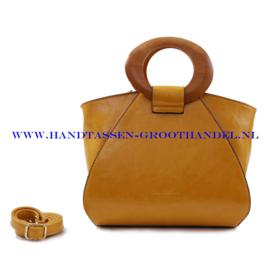 N73 Handtas Ines Delaure 1682209 geel