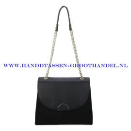 N88 Handtas Ines Delaure 1682720 zwart