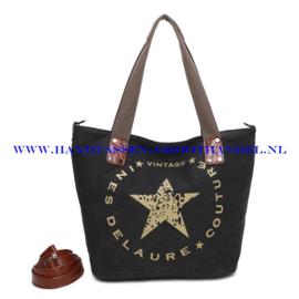 N33 Handtas Ines Delaure 1682675 zwart