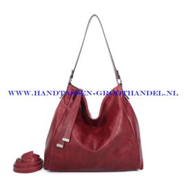 N39 Handtas Ines Delaure 1682868 bordeaux