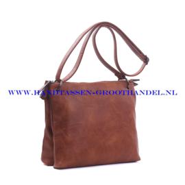 N72 Handtas Ines Delaure 1682177 camel