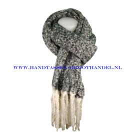 N60 sjaal 1857 zwart