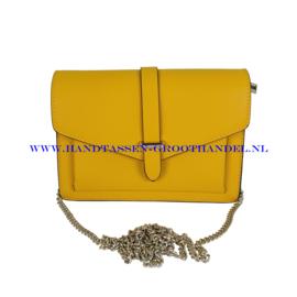 N35 Handtas Flora & Co 6743 geel