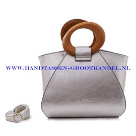 N73 Handtas Ines Delaure 1682209 zilver