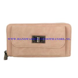N18 portemonnee Mandoline 135 pink (roze)
