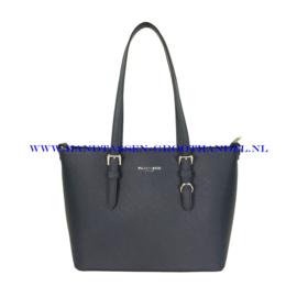 N73 Handtas Flora & Co F9179 blauw