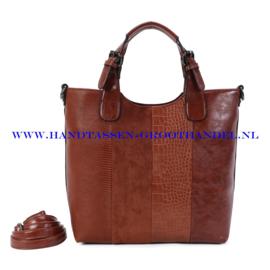 N117 Handtas Ines Delaure 1682738 camel