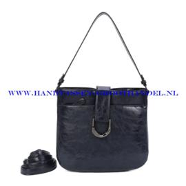 N117 Handtas Ines Delaure 1682697 nuit (blauw)