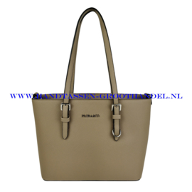 N73 Handtas Flora & Co F9179 taupe claire