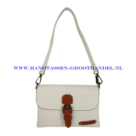 N23 Handtas Flora & Co h6756 wit