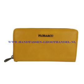 N20 portemonnee Flora & Co h1689 moutard (geel)