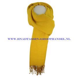 N21 sjaal ENEC-807 moutarde (geel)