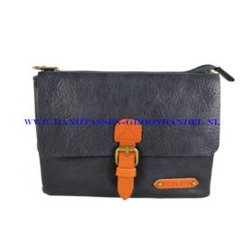 N30 Handtas Flora & Co 6768 blauw