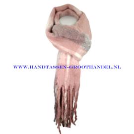 N68 sjaal 1826 vieux roze (roze)