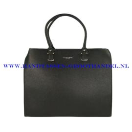 N76 Handtas Flora & Co 9238 zwart