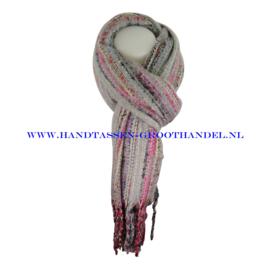 N101 sjaal ENEC-843 grijs
