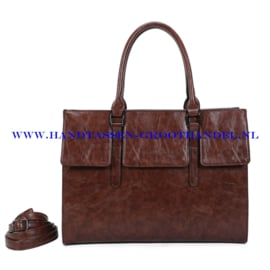 N41 Handtas Ines Delaure 1682781 choco (bruin)