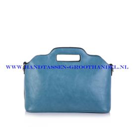 N35 Handtas Ines Delaure 168018 azur (groen)