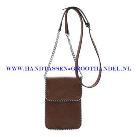 N21 Handtas Ines Delaure 16822592 camel