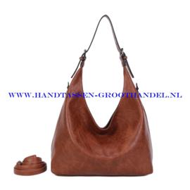 N39 Handtas Ines Delaure 1682832 camel