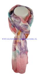 N5 sjaal enec-1036 roze