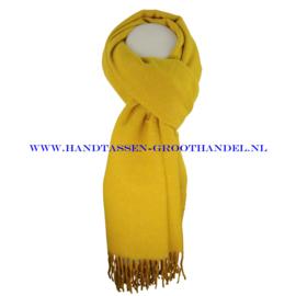 N21 sjaal ENEC-808 moutare (geel)