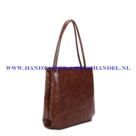 N112 Handtas Ines Delaure 1682213 choco (bruin)