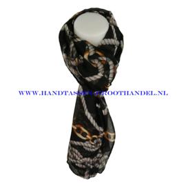 N5 sjaal ENEC-823 zwart