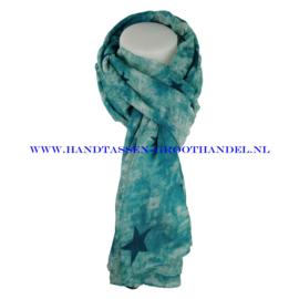 N7 Sjaal 7034 turqouise