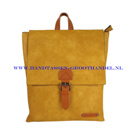 N34 Handtas Flora & Co 6771 moutarde (geel)