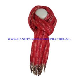 N101 sjaal ENEC-843 rood