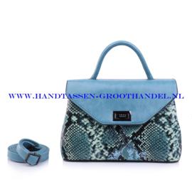 N103 Handtas Qischa 1681457s blauw