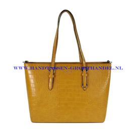N41 Handtas Flora & Co 9527 moutarde (mosterd - geel)
