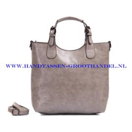 N72 Handtas Ines Delaure 168168 souris (grijs)