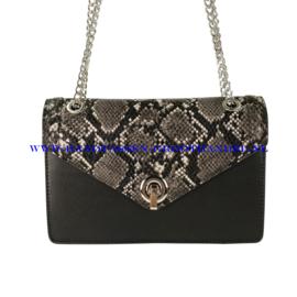 N28 Handtas Flora & Co 9557 zwart