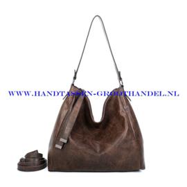 N39 Handtas Ines Delaure 1682868 marron (bruin)