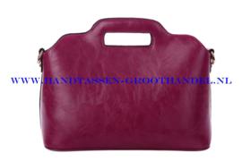 N35 Handtas Ines Delaure 168018 framboise ( paars)