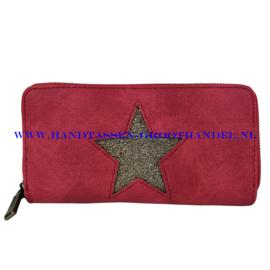 N18 portemonnee Mandoline 309 rood