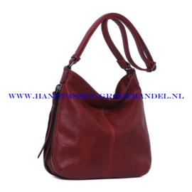N72 Handtas Ines Delaure 1681669 bordeaux