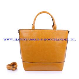 N38 Handtas Ines Delaure 1682260 saffran (geel)