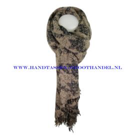N15 sjaal ENEC-915 taupe