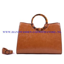 N107 Handtas Ines Delaure 1682301 gold (bruin - camel)