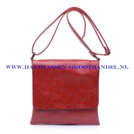 N78 Handtas Ines Delaure 1682181 brique (rood - camel)