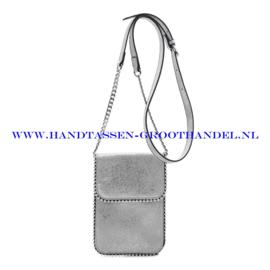 N21 Handtas Ines Delaure 16822592 zilver