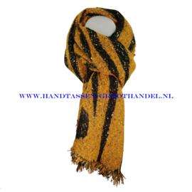 N68 sjaal ENEC-908 licht oranje