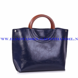 N73 Handtas Ines Delaure 1681677 blauw